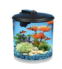 Brand New Hawkeye 2-Gallon Aquarium Starter Kit Power Filter and MulticolorLED
