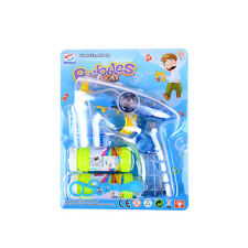 LED Bubble Gun Flashing Light Up Bubbles Blaster Squirt Blower Shooter FavorXBDS