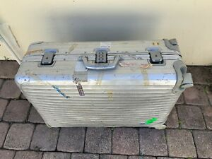 "RIMOWA | 28"" Aluminum Packing Suitcase 