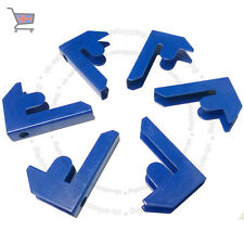 New Shelving Racking T-Rax Garage Shelf Bay Connector Clips Pack of 6X Blue