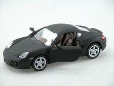 Kinsmart Porsche Cayman S (Matte Black) 1:34 Die Cast Metal Collectable Car