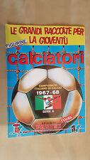ALBUM CALCIATORI PANINI 1967-68 Serie A Figurine Panini Ristampa L'Unità