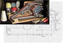 Heritage Inkle Loom Plans by: The Loom Merchant