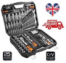 "NEO Tools  219Pcs  Professional Ratchet Socket Set 1/2"", 1/4"", 3/8"" (Neo 08-671)"