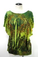 Apt9 - Blouse - Size XL - Green - Women's - Hippie - Shirt
