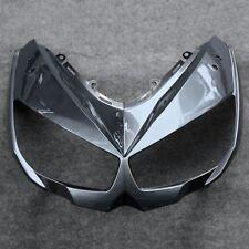 Gray Front Upper Fairing Headlight Cowl Nose Fit for Kawasaki Z1000SX 2010-2015