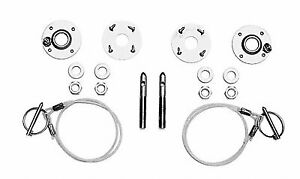 1979-2004 Genuine Ford Racing FRPP Mustang Hood Latch & Pin Kit M-16700-A (Fits: