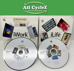 Apple iLife 2008/iWork 2008 set - Full Retail Version!