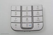 Nokia 6270 Nummern Tastatur Tastenmatte silber numeric Keypad