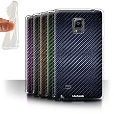 Gel/TPU Case for Samsung Galaxy Note Edge/N915/Carbon Fibre Effect/Pattern