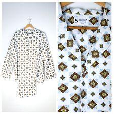 Vintage Cotton Pyjama Set | Japanese Cotton Pyjamas | Fine Print Pyjamas | Mens