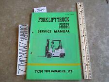 TCM Forklift FD15Z6 FD18Z6 Service Manual