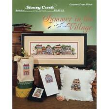 STONEY CREEK Cross Stitch Pattern Leaflet SUMMER IN THE VILLAGE 416