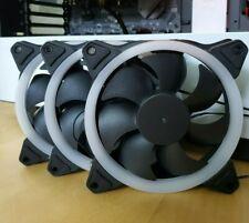 |3 pack | LED 12 cm PC Case Cooling Fan |  | US Seller | 3 pin & 4 pin molex