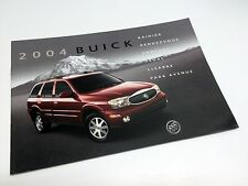 2004 Buick Park Avenue LeSabre Regal Century Rainer Rendezvous Brochure