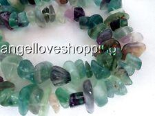 "15""  fluorite freeform nugget gemstone loose beads USA RUSSIA BY EUB 14mm"