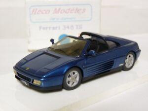 Heco 144 1/43 Ferrari 348 TS Handmade Resin Model Car