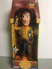 Disney Store Toy Story Pull String Woody 16 Talking...