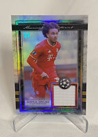 2021 Topps Museum Joshua Zirkzee Jersey Relic Card Bayern Munich  / 150  UEFA