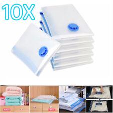 10Pcs 90x50cm Vacuum Storage Bag For Clothes Saving Bag Vaccum Pack Saver UKED