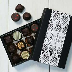 Friars Luxury Delectably Dark Chocolates Gourmet Selection Assortment - 15 Chocs
