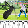 Adjustable Golf Bag  Padded Folding Shoulder Bag Carrying Replacement