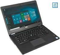 Dell Latitude E5470 i7-6820HQ QUAD Core 8GB 256GB SSD IPS 1080p FullHD 1080p