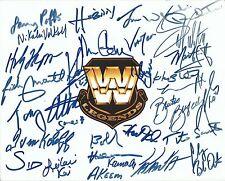 Wwe Legends 29x Signed 8x10 Photo Vader Animal Gene Okerlund Demolition 123 Kid