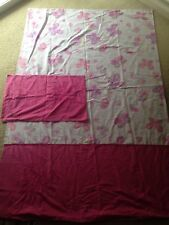 Single Bed Cute Butterfly Flowers Doona Quilt Cover Set Double SidEd UGC