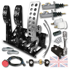 UNIVERSAL FLOOR MOUNTED CABLE PEDAL BOX + KIT B + LINES    CMB0666-CAB-KIT-LINES
