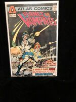 Planet Of Vampires #1 Atlas Comics Key Issue