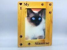 Siamese Cat Photo Picture Frames, Cat Photo Picture Frames, Siamese Cat Gifts