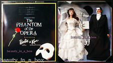 Phantom of the Opera Barbie & Ken Doll Together Giftset FAO Schwarz G ""