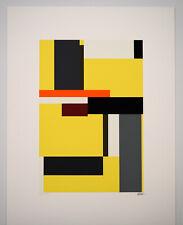 Dexel Walter Bauhaus handsigniert und nummeriert, Serigr. in 9 Farben