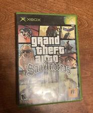 Grand Theft Auto San Andreas Original Xbox   No Manual   Fast Ship