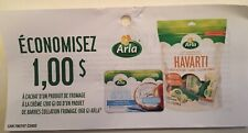 Lot of 20 x 1.00$ Arla Products Coupons Canada