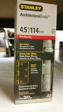"""Stanley Door Hinge S821-033 Prime Coat White 4.5""""/114mm"""