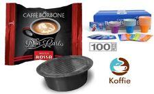 100 Capsule Don Carlo Borbone Rossa / Red compatibile Lavazza A MODO MIO + kit