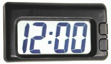 Black Big Digit Clock for Car-Truck-Bike-Scooter Interior Dash