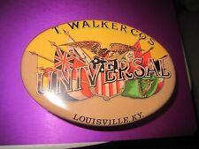 UNIVER.Cut Plug Walker TOB.TIN LOUISVILLE,KY MADE ENGLAND,DESIGN BY DAHER