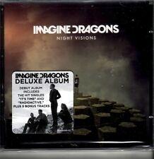 "IMAGINE DRAGONS ""Night Visions"" 11 + 5 Bonus  Track CD Deluxe Version"