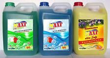 3 x 5 Liter Vollwaschmittel/Colorwaschmittel/Weichspüler *versandfrei*