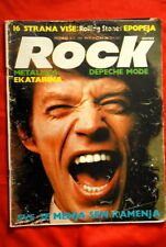 MICK JAGGER ROLLING STONES ON COVER 1988 EXYU MAGAZINE