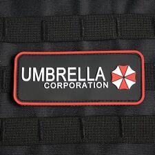Resident Evil Umbrella Corporation Logo Chest tab 3D PVC  Patch PB003