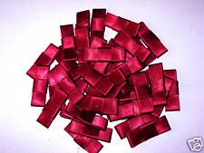 CLEARANCE SALE 40 BURGUNDY SATIN BELT BOW 29MM 99P