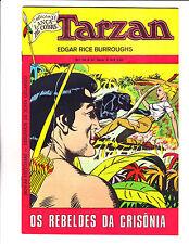 """Tarzan No 10 1974 - Brazilian- """"Panther Attacking Girl Cover! """""""