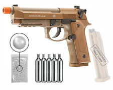 Umarex Beretta M9A3 CO2 Blowback BB AirSoft Pistol with Wearable4U Bundle