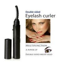 Electric Heated Eyelash Curler Pen Long Lasting Eye Tool Comestic Makeup B1D4