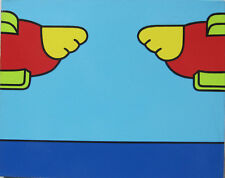 Signed Lichtenstein Warhol Max Original Los Angeles CA Pop Art Primary Colors