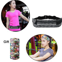 Sport Runner Fanny Pack Belly Waist Bum Bag Fitness Running Jogging Belt Pouch